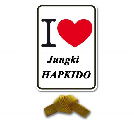 I Love Jungki Kwan geel